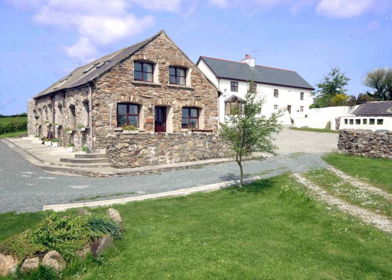 Our apartments are in a tastefully converted 18th. Century stone barn.