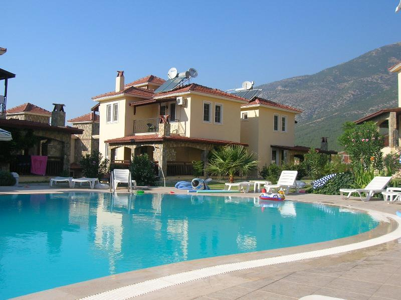 Our Villa from pool