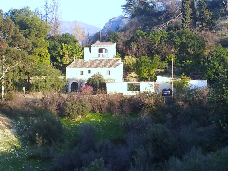 El Molino sits in a sunny sheltered private situation with wonderful views across the campo.