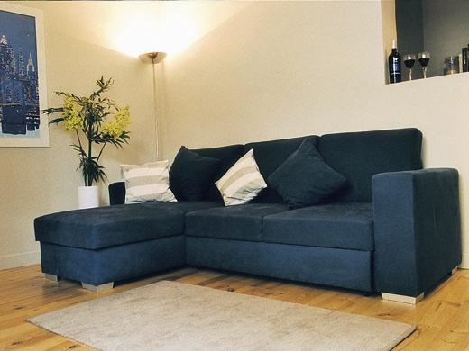 Large comfortable sofa bed
