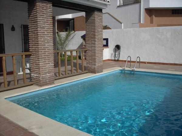 Swimming Pool - Villa Alqueria 4 Bedroom overlooking the ocean - Nerja - rentals