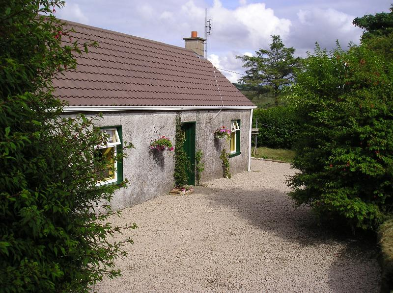 Front view of cottage
