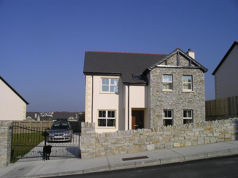 Front view of house