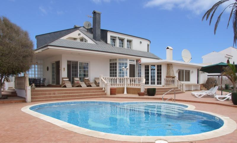 View of the House from the pool area