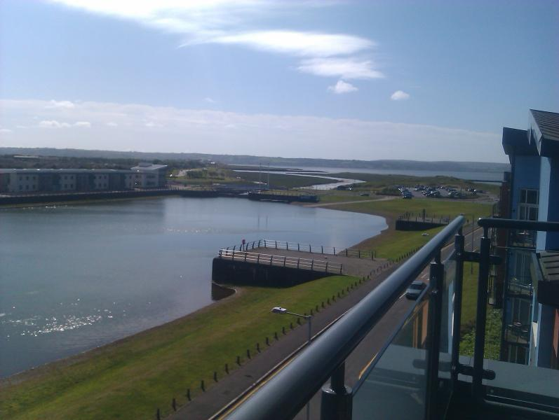 Beatiful Views from rear balcony of Gower and Llanelli
