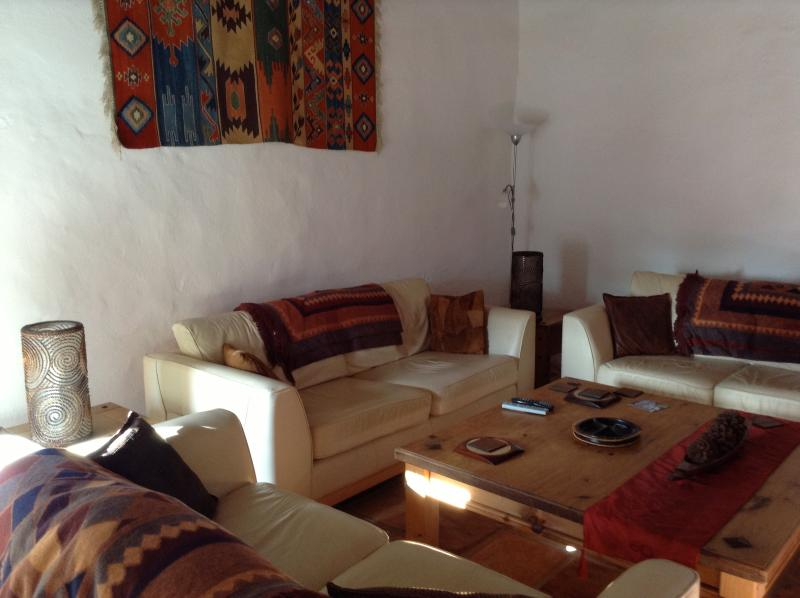 Casa Margaita's lounge - for evenings, where friends and family relax and discuss their day!