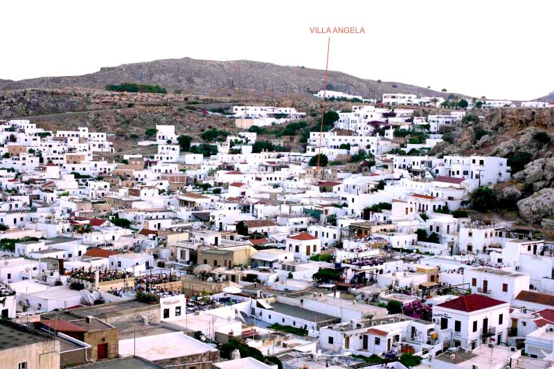 Villa Angela is nestled in the centre of historic Lindos