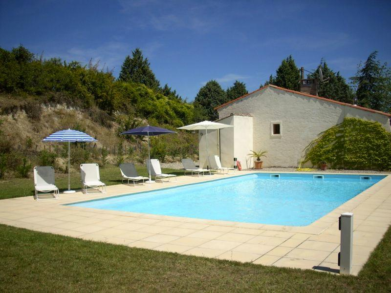 Domaine du Renne - the inviting pool!