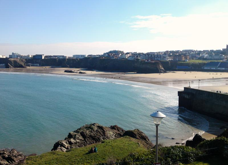 Views of Newquay Harbour From the House