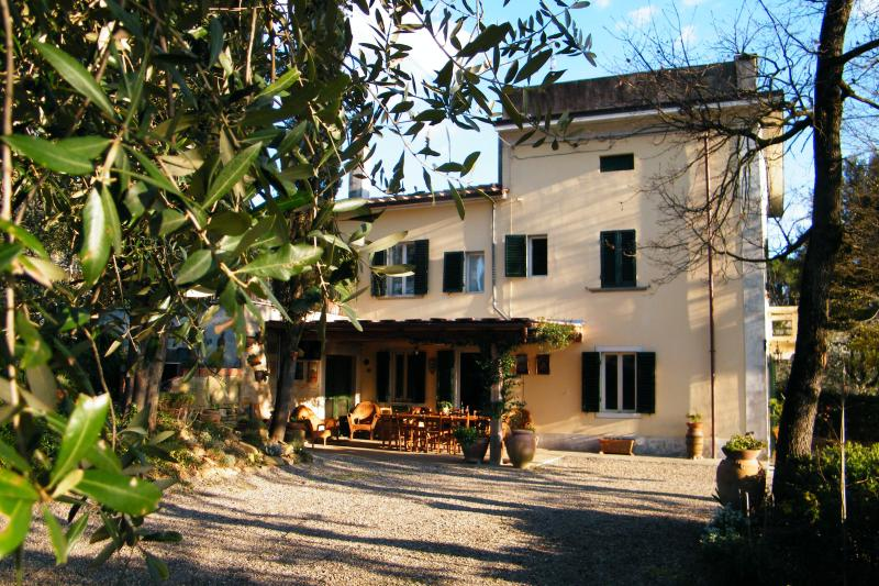 Villa Olive view from North