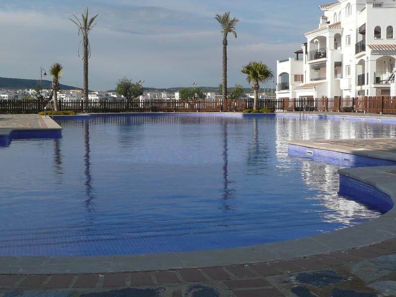 Our amazing pool - just steps away