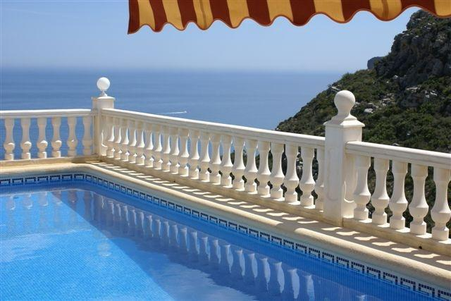 Heated pool - with a view!