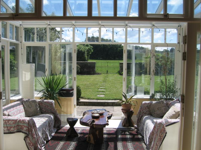 Our gorgeous conservatory gives you that summer feeling all year round