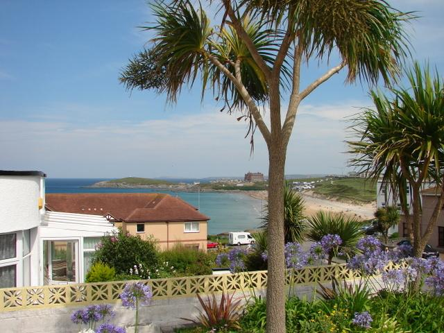 View from Casa Sirena over Fistral Beach