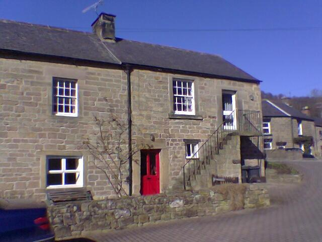 Toad Cottage situated in Two Dales in a quiet courtyard known as Blacksmiths Yard.