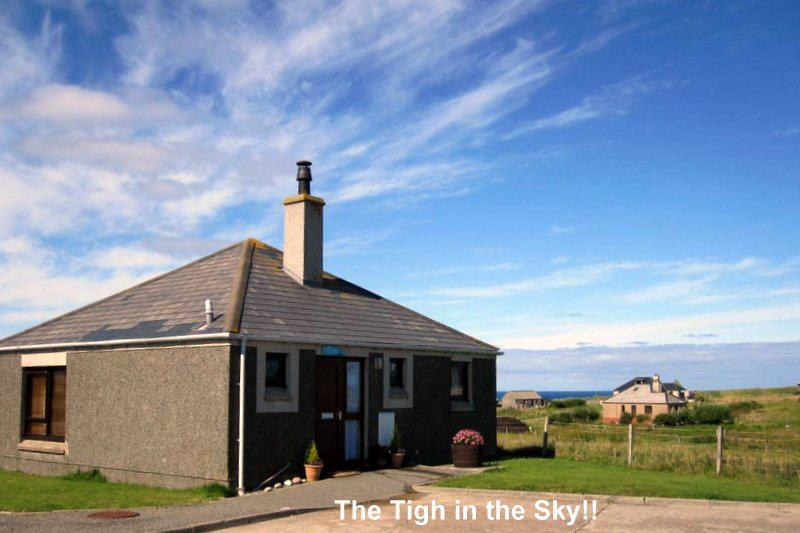 Tigh Ceilidh, South Dell- the Tigh Ceilidh is a romantic and cosy studio apartment ideal for couples