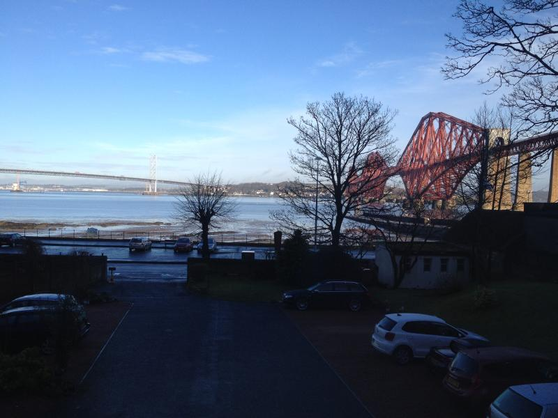 Excellent View of Bridges from Living Room