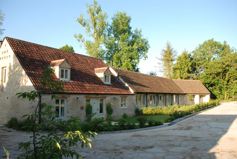 Dovecote and the Pantiles were restored in 2009 and designed to run together as Doughton Barns