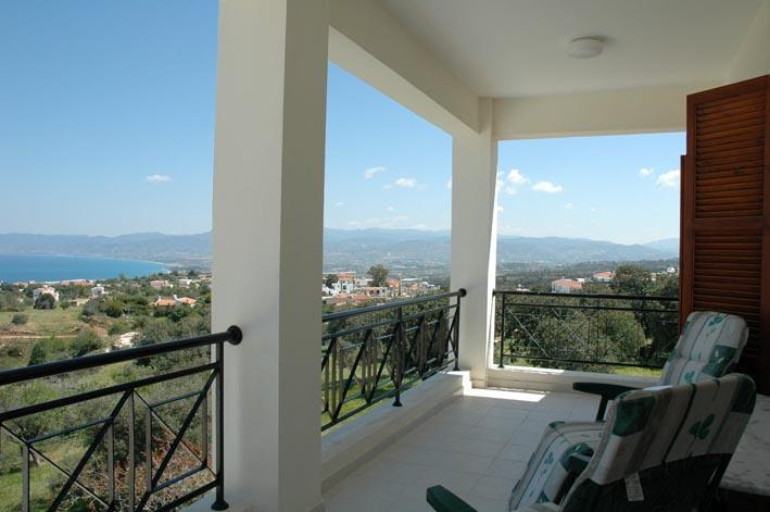 Top veranda view - walk out straight from bedrooms