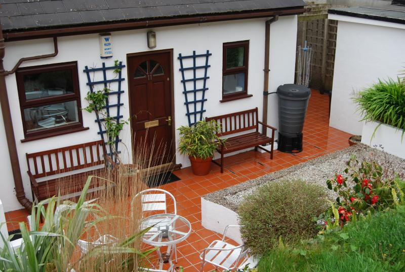 Lovely enclosed front garden which is a sun trap in the morning