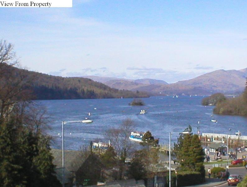Location and View of Lake Windermere