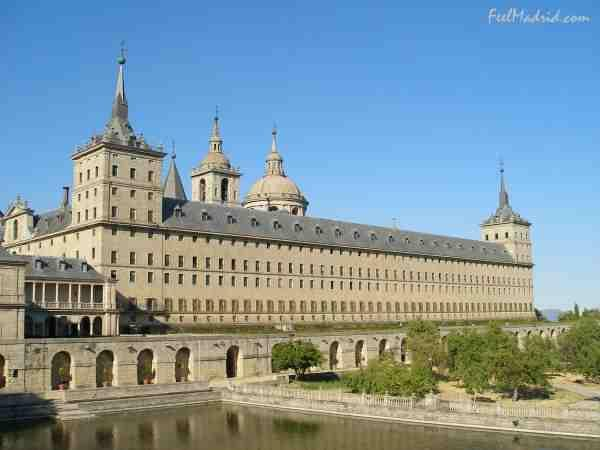 Monastery of San Lorenzo de el Escorial, 5 mins walk away