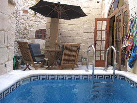 Heated Plunge-Pool/Jacuzzi