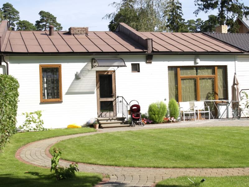 Durbe Jurmala overview with sun terrace, BBQ place