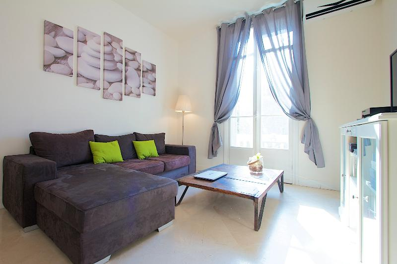 High quality apartment with AC and balcony in the heart of Nice