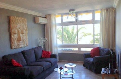 Lounge with Aircon,looks out to lovely gardens