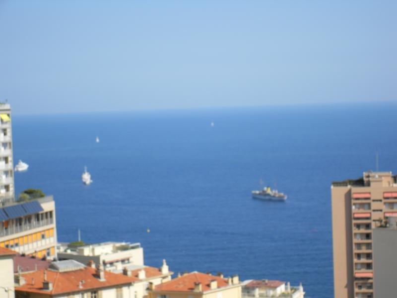 View of Med from balcony