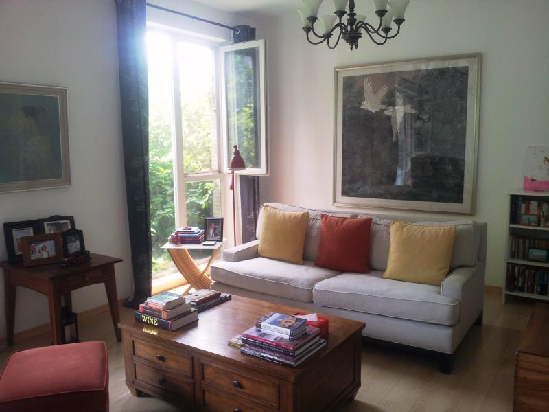 The living room on first floor