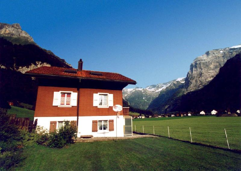 Chalet Maiglück and panoramic view
