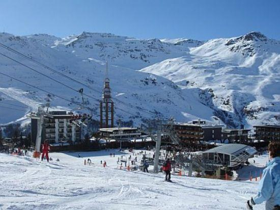 Traditional Ski Resort of Les Menuires/Val Thorens offers hundreds of miles of ski runs for all