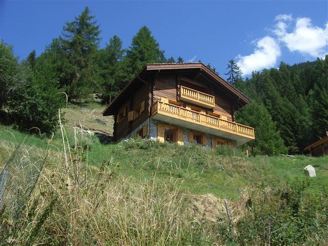 Chalet Grouse - remote and tranquil.  Ideal for summer holidays - relive Heidi