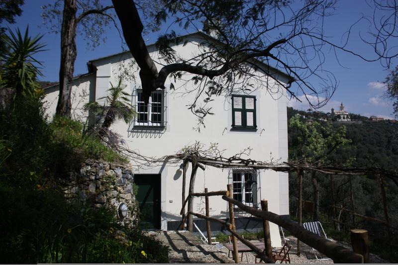 Casa Bianca - the White House in its olive grove