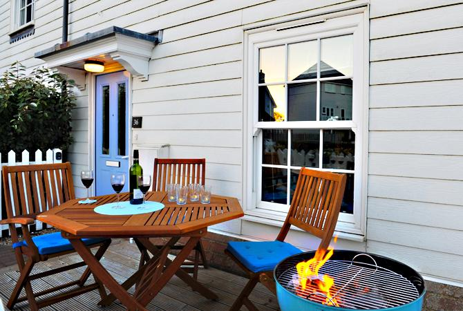 enjoy a relaxing BBQ after a day sightseeing