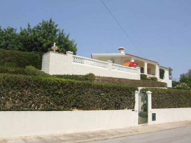 Property facing South with lovely countryside and sea views