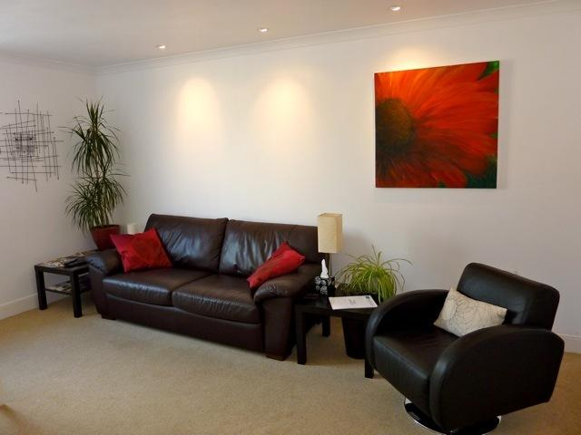 A relaxing space to put your feet up and chill out after a long days sightseeing