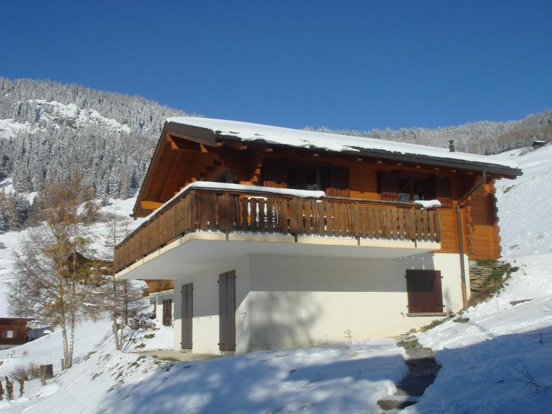 Chalet Morrow in the Winter