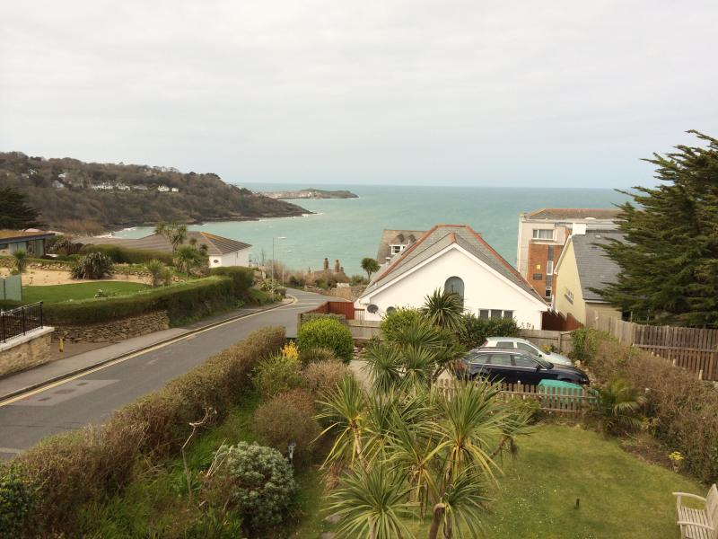 View from the Lounge 400 metres to Carbis Bays' stunning Beach