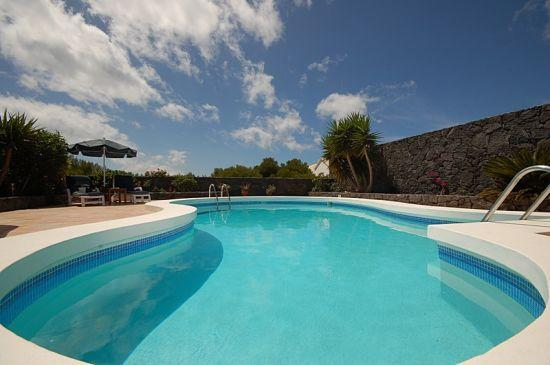 Very large private (heated) pool - perfect for a cool dip or more vigorous swim