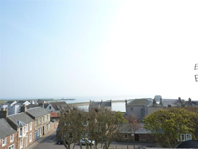Beautiful views from the rooftop sunroom over the Firth of Forth.