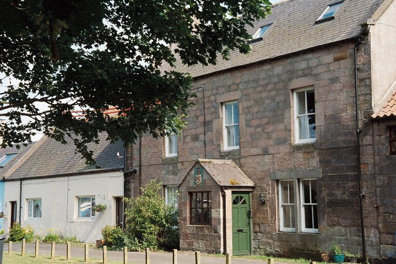 Town House Farm, Beadnell the oldest house on the village green