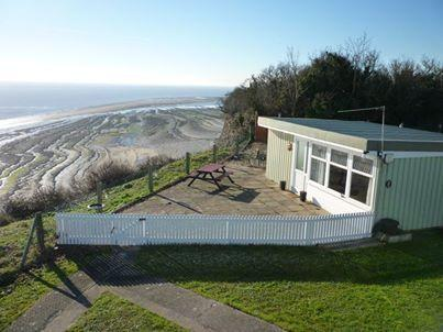 4 berth, 2 bedroom chalet, some have spectacular views over the Bristol Channel