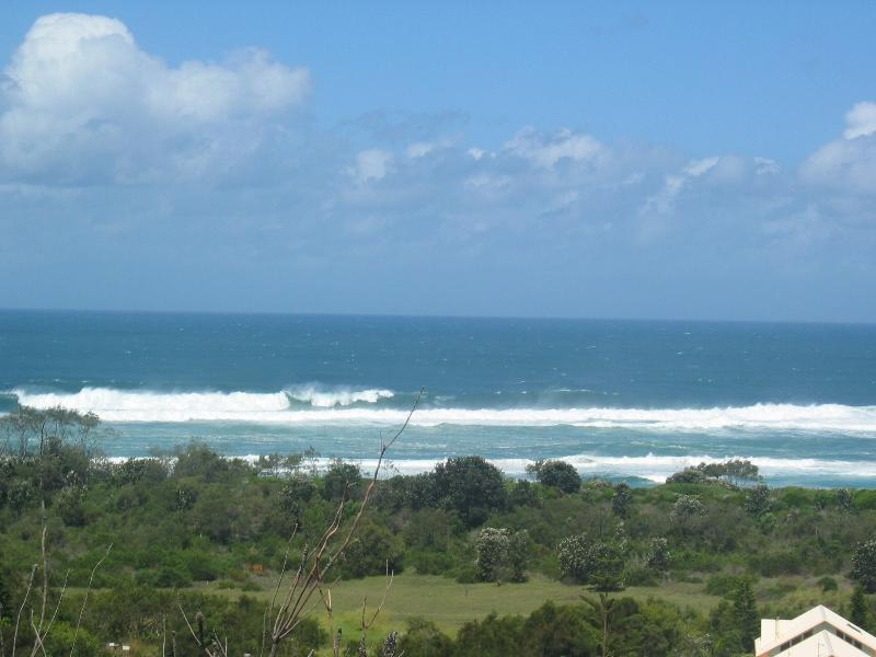 Ocean & surf view from back deck