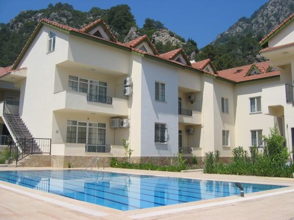 Zeytin Apartment is on a private complex with pool