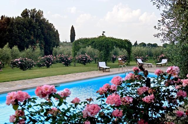 Castellare de Sernigi villa in Chianti with pool
