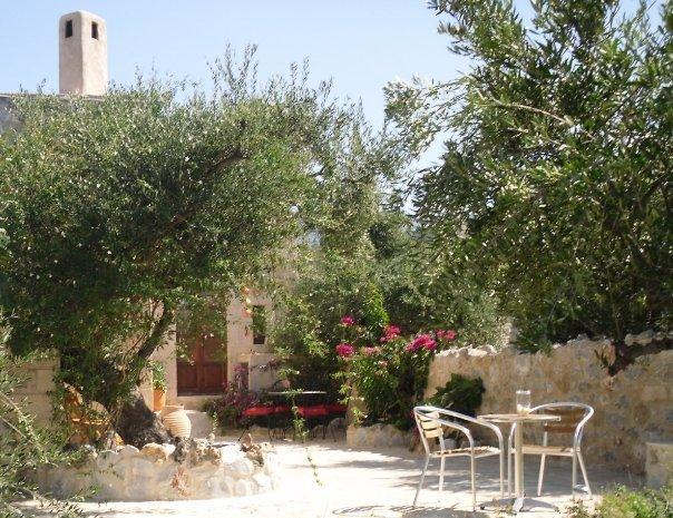 Private Terrace over looking olive groves