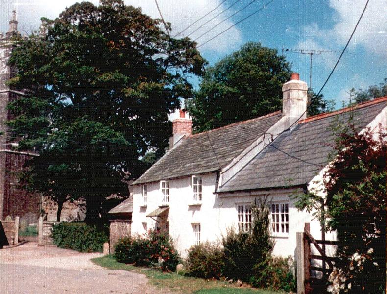 front view of the cottage